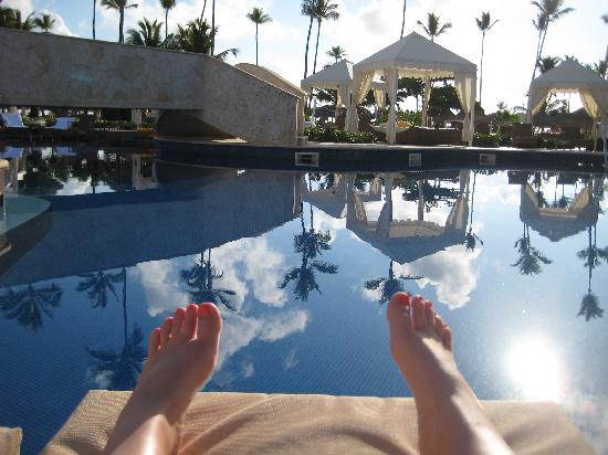 Iberostar Grand Hotel Bavaro: At the pool.