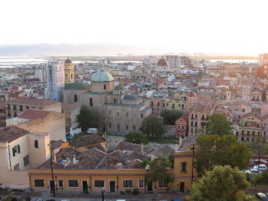 Cagliari, Italy: quartiere Stampace