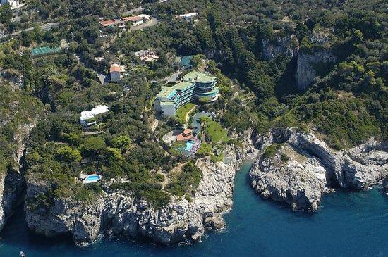Hotel Delfino: foto aerea