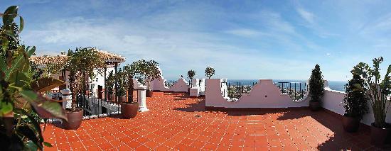 Hotel La Fonda: Terraza