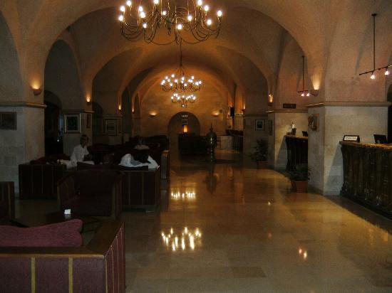 Hotel Diar Lemdina : hotel binnenkant (receptie & lobby )