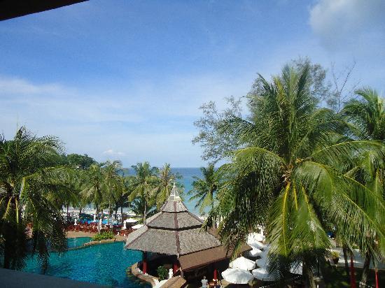 Kata Beach Spa Resort: vue du balcon