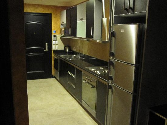 The Fields Plaza Suites : Kitchenette