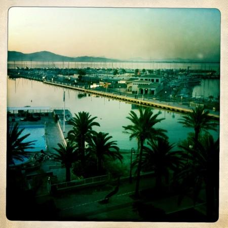 Hoposa Daina Hotel : veiw from our room, taken on iphone with an app