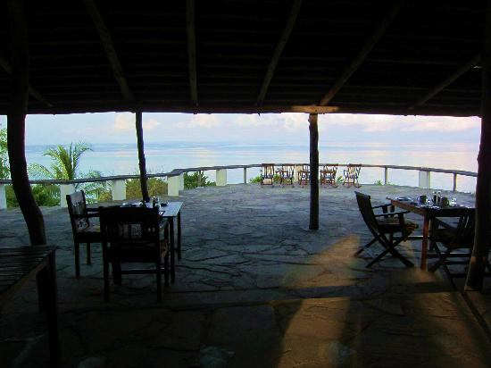 The Manta Resort: Looking out from the main building