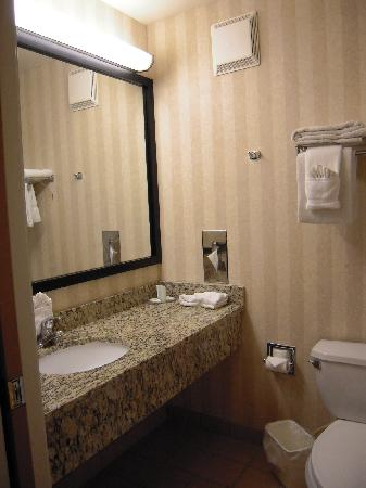 Comfort Suites Summit County: Bathrooms were clean