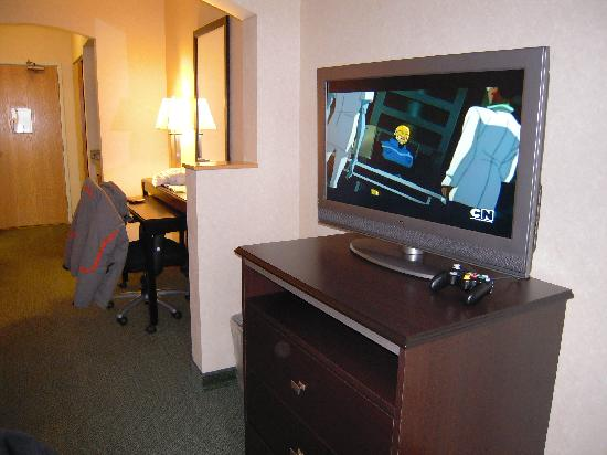 Comfort Suites Summit County: Flat screen TV
