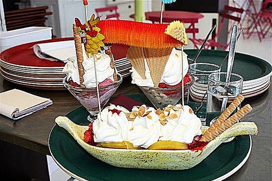 Aix-les-Bains, Francja: gelati
