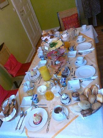mittendrin: das schönste Frühstück das ich je hatte