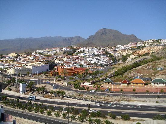 Hotel Ocean Ponderosa : ausblick vom vorderen balkon
