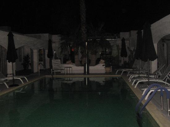 The Westcott: Pool Area At night