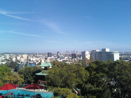 Yamashiro: View from their front entrance