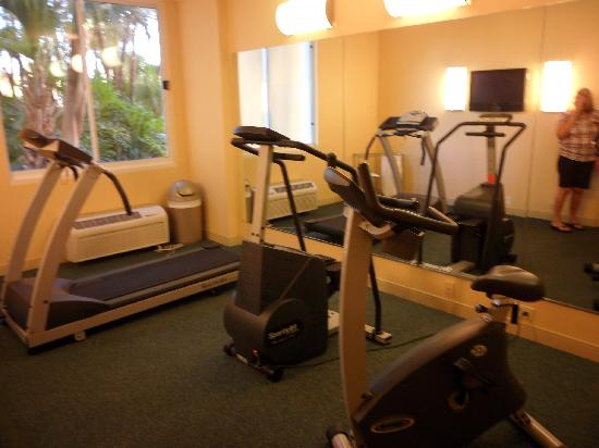 La Quinta Inn & Suites Naples Downtown : Fitness room