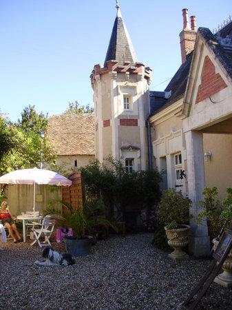 Saint-Jean-de-la-Motte, France : dit was ons vrije uitzicht