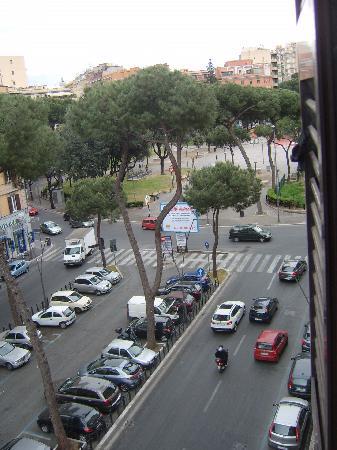 Domus Appia 154: Aussicht aus dem Zimmer
