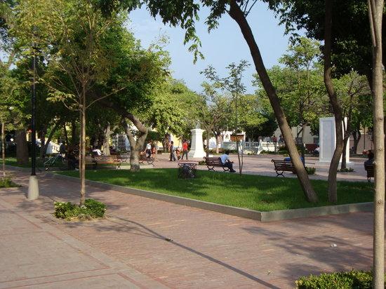 Santa Marta, Colombia: Parque de Los Novios