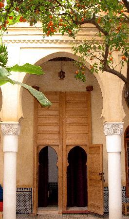 Riad La maison d'a cote: Room Entry