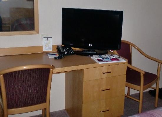 BEST WESTERN Hotel Jena: kleiner LCD Fernseher