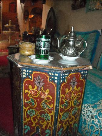 Riad Dar Barbara: un petit thé à la menthe ?
