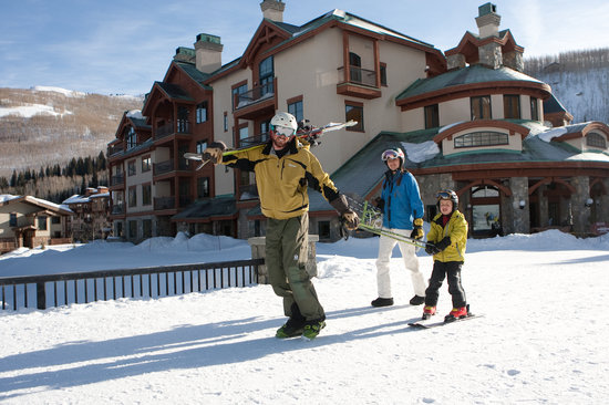 The Village at Solitude: When we say ski in, ski out, we mean it!
