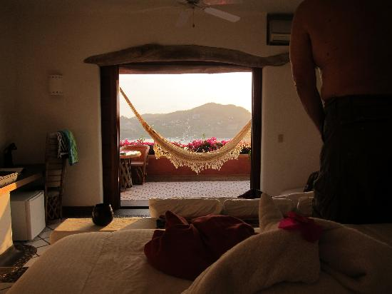 Casa Cuitlateca: View from the bed