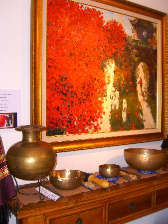Far-Fetched Antiques and Art Gallery: ORIGINAL ART/SINGING BOWLS