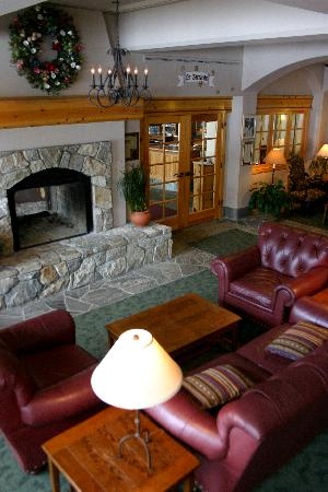 The Inn at Solitude: The Inn Living Room. A perfect place to unwind.