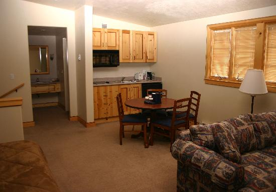 The Inn at Solitude: 4 units have an available kitchenette