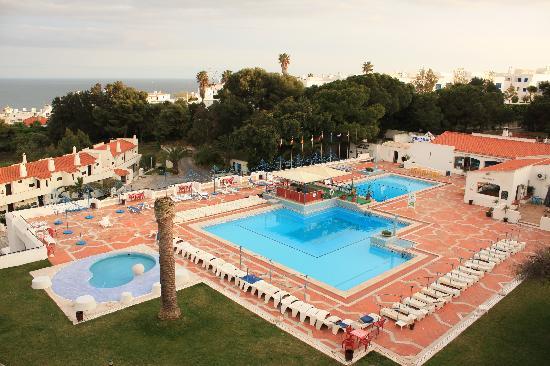 Piscina picture of albufeira jardim apartamentos for Albufeira jardin