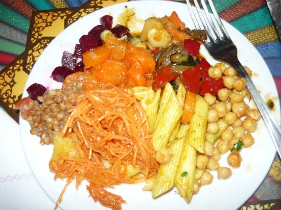 Agrabah Cafe: vegetarian salad starters