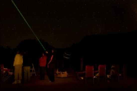 Evening Sky Tours: Laser Pointers