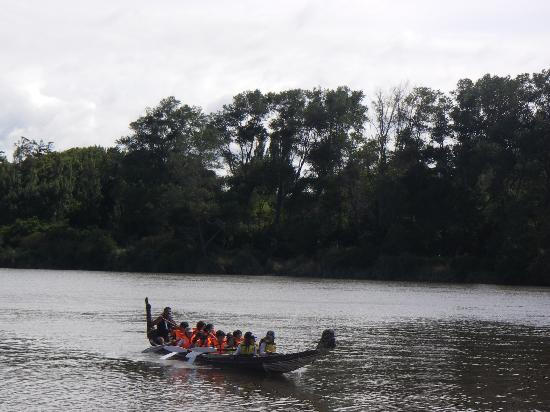 Spirit of the River Jet - Whanganui River: Experience the canoe tour