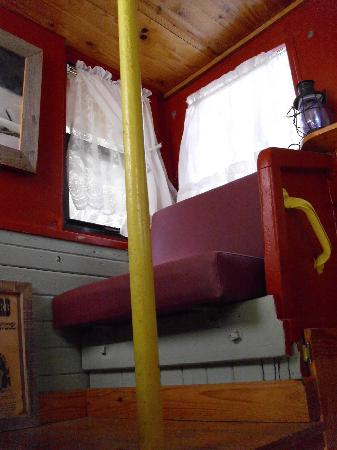 Livingston Junction Cabooses: Cupola in Caboose