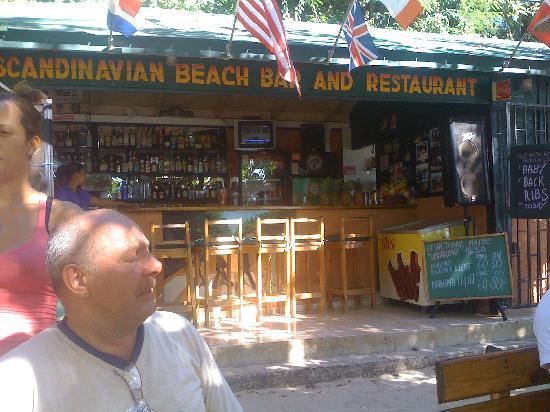 Scandinavian Beach Bar & Restaurant: The best beach bar / rest in sosua