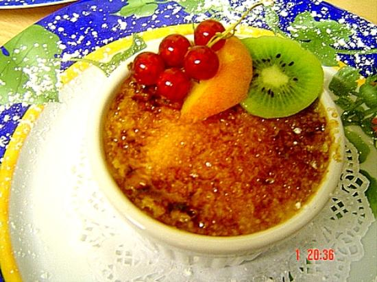 Peppercorn: Creme Brulee