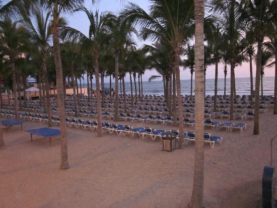 Hotel Riu Vallarta: The beach!