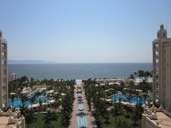 Hotel Riu Vallarta: The view from our room again!