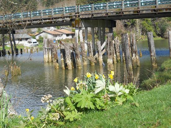 Kurt Cobain Memorial Park: The banks of the Wishkah river