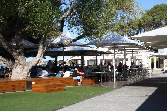 Hotel Rottnest: view from restaurant and bar