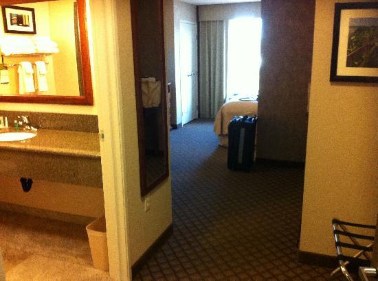 Comfort Suites: Looking into Room 203