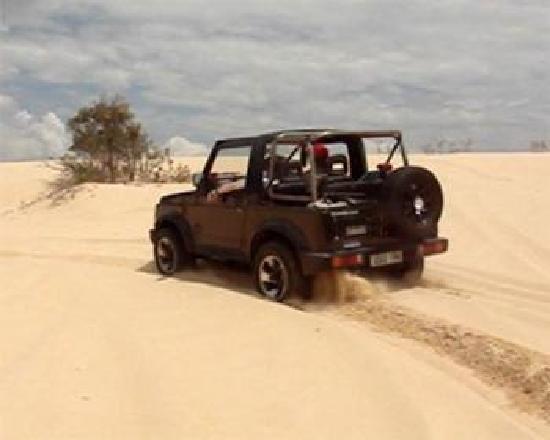 Hawks Nest, Austrália: 4WD Beach