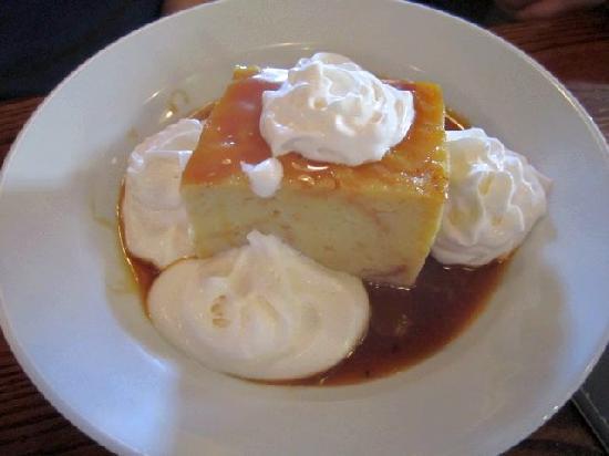 The Iron Rabbit Restaurant and Bar: Bread pudding