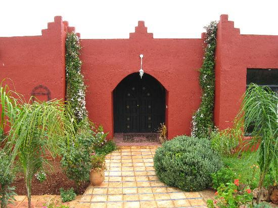 Jnane N'zaha: de poort naar de kamers die los van het huis stonden