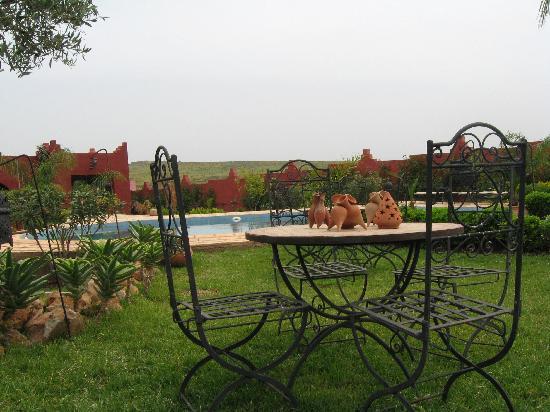 Jnane N'zaha : de tuin met zwembad