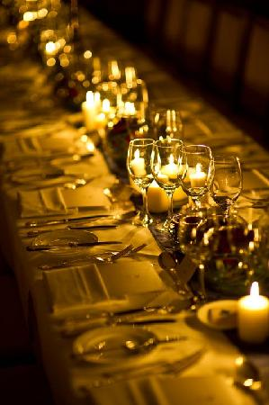Waterford Castle Hotel & Golf Resort: Table settings