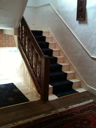 Rothmans Bed & Breakfast : the stairs