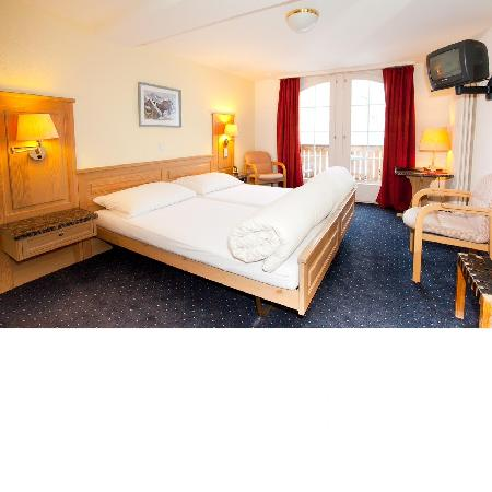 Hotel Jungfrau : Superior room with balcony