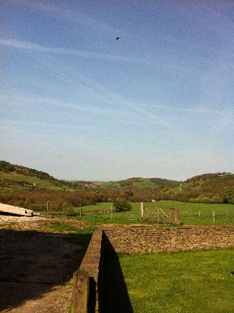 Harrop Fold Farm: The view from our room