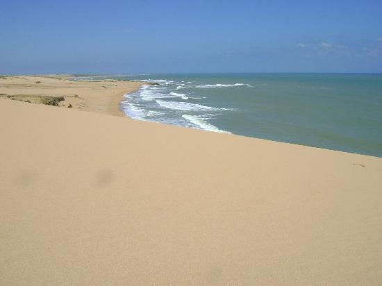 La Guajira Department, Colombie : Dunas y Playa en Punta Gallinas