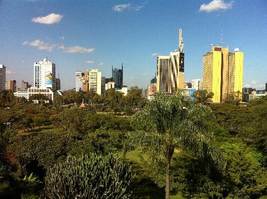 Nairobi Serena Hotel: Vista dalla camera